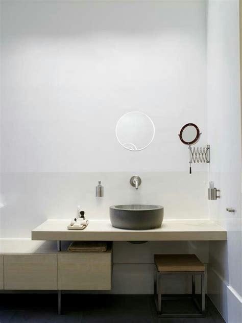 Floating Shelf For Vessel Sink by Concrete Vessel Sink On Floating Shelf Master Bathroom