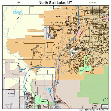 map of salt lake city streets salt lake utah map 4955210