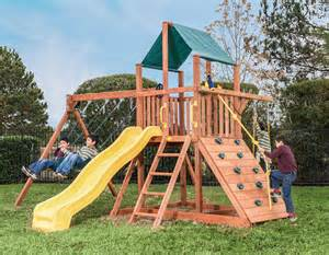 Orangutan fort swing set treefrogs swingsets
