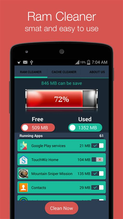 ram claner ram cleaner apk free tools android app appraw
