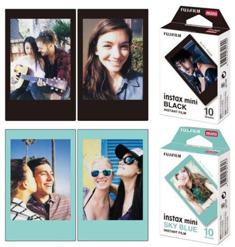 Fujifilm Instax Mini Sky Blue 10 Lembar Kamera fujifilm to launch new black and blue instax colors