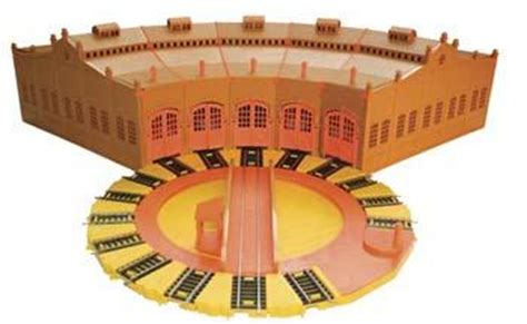 Bachmann Tidmouth Sheds by Deluxe Tidmouth Sheds 5 W Manual Turntable The Tank Electric Accessory 45236 By