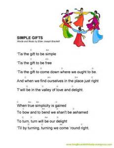 simple gifts of scout songbook w mrs g friends 2014 2015 sing