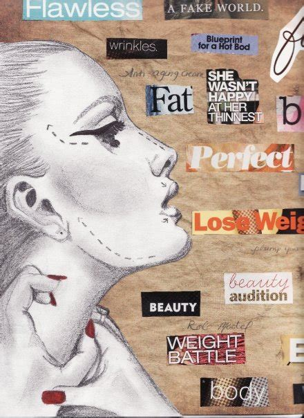 body image mixed media allyfosters blog