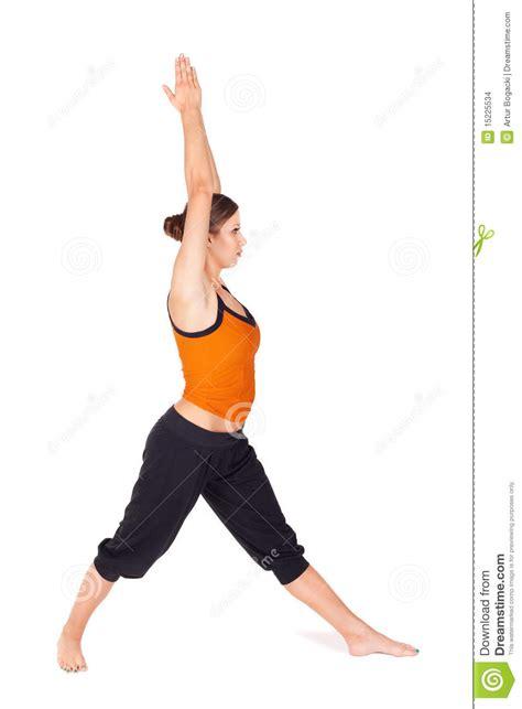 imagenes yoga mujer ejercicio practicante de la yoga de la mujer foto de