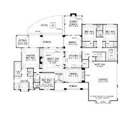 open floor plan country homes open floor plans for single story french country homes