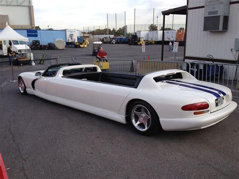 dodge limousine dodge viper limo