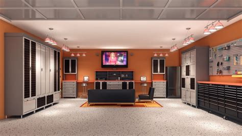 garage living converting your garage into the ultimate entertainment space