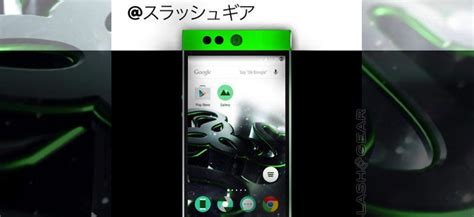 mobile phone gaming razer gaming company teams up with 3 working on the razer