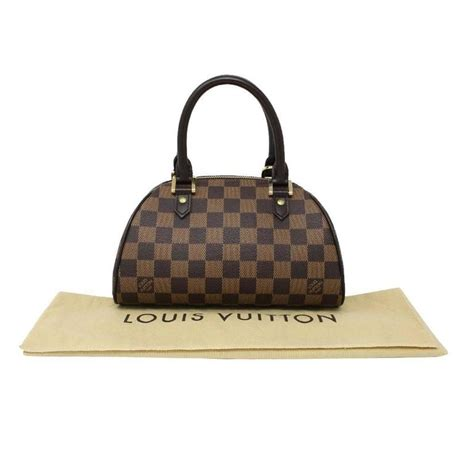 Louis Vuitton Dust Bag louis vuitton ribera pm damier ebene handbag in dust bag at 1stdibs