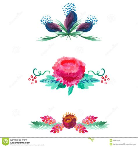 color dividers water color divider clipart