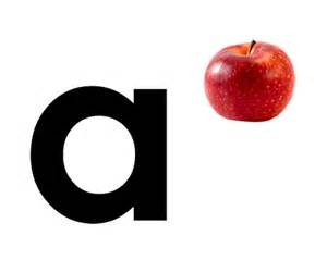 for a a for apple kindersay