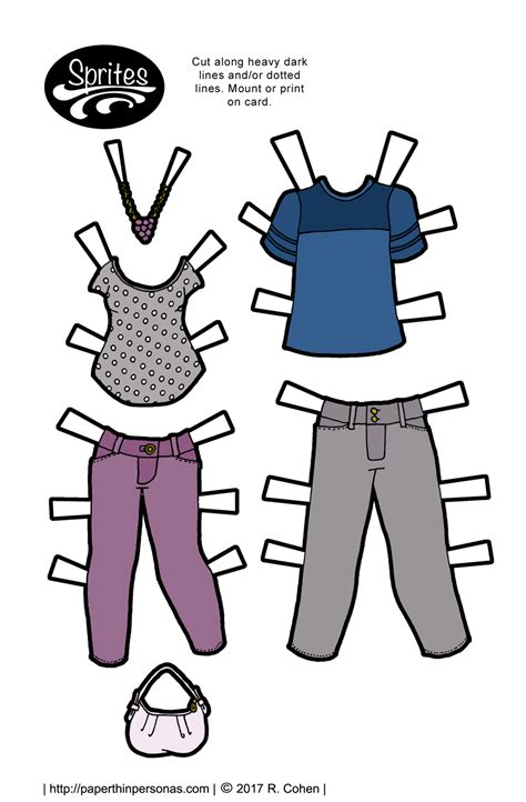 printable paper dolls and clothes printable paper dolls from paper thin personas