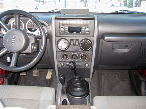 Jeep Wrangler 2007 Interior by 2007 Jeep Wrangler Pictures Cargurus