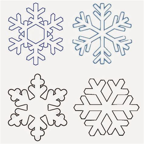 Snowflakes Templates classroom freebies snowflake word famiies packet