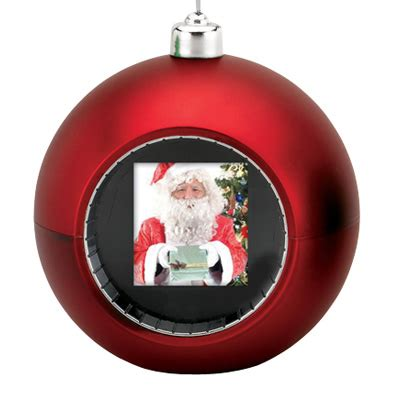 digital photo display ornament red 2007 mr christmas ebay