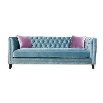 diamond tufted sofa jennifer taylor blue velvet polyester tufted back sofa
