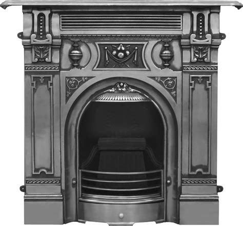Kitchens Islands With Seating the large victorian cast iron fireplace