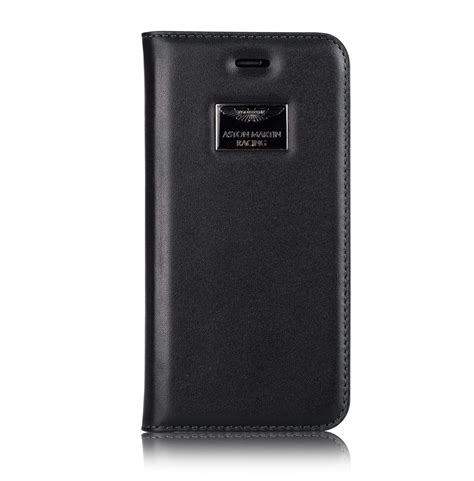 aston martin racing apple iphone     official leather case limited edition flip