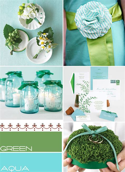 aqua green wedding ideas aqua green wedding colors palette aqua summer wedding