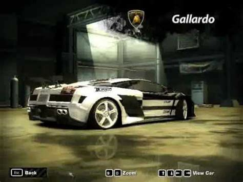 Auto Gesucht by Need For Speed Most Wanted My Customized Cars In Career