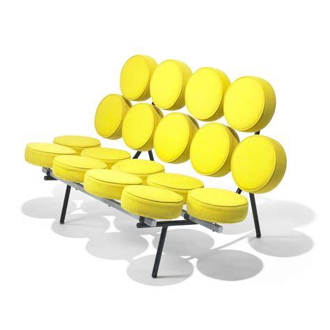 Nelson Marshmallow Sofa by George Nelson Associates Marshmallow Sofa Model 5670