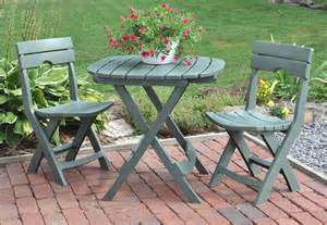 patio table sets folding outdoor:  set outdoor patio furniture folding table and chairs garden resin