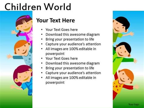 Powerpoint Templates Kids The Highest Quality Powerpoint Templates And Keynote Templates Download Free Children Powerpoint Templates