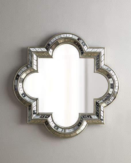 quatrefoil mirror neiman marcus