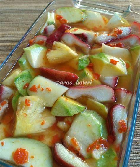 resep asinan buah  enak  sederhana
