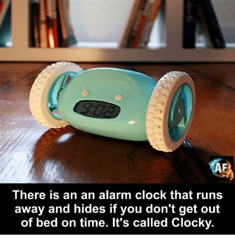 Clocky Alarm Clock Runs And Hides When You Dont Up by 25 Best Memes About Runs Away Runs Away Memes