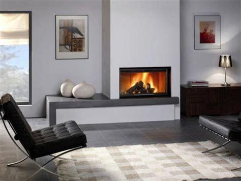 cheminee design moderne chauffage chemin 233 e avec des inserts cheminee design