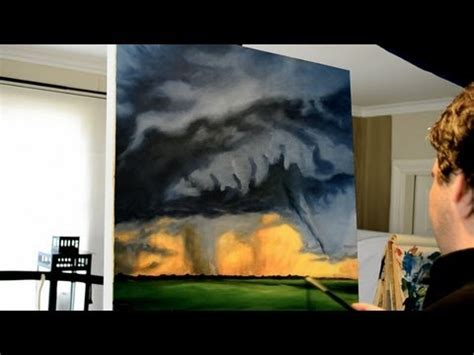painting to do tornado time lapse acrylic painting