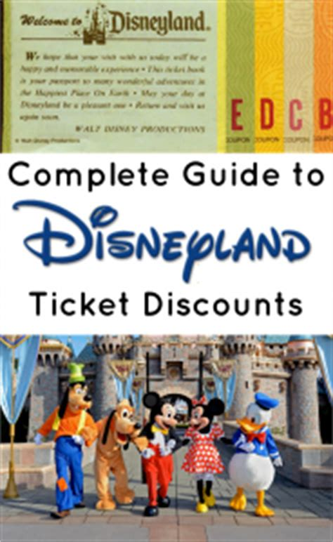 finding discount disneyland tickets: getting them cheap