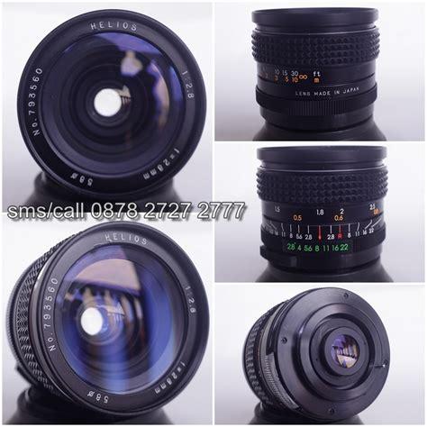 Lensa Helios Nikon helios 28mm f2 8 lensa manula