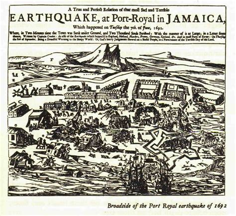 Planter S House port royal earthquake part 2 after june 7th 1692 11 43