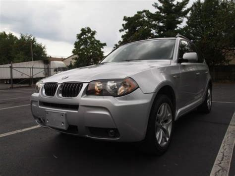 2006 bmw x3 sport package buy used 2006 bmw x3 3 0 m sport package navigation new