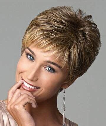 really short cute no fuss womens hair style aliexpress com buy new highlight blonde female haircut