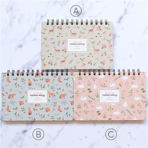 Buku Weekly Planner Untuk 6 Bulan Dengan Cover Watercolor jual mellow diary weekly planner buku agenda pinkabulous