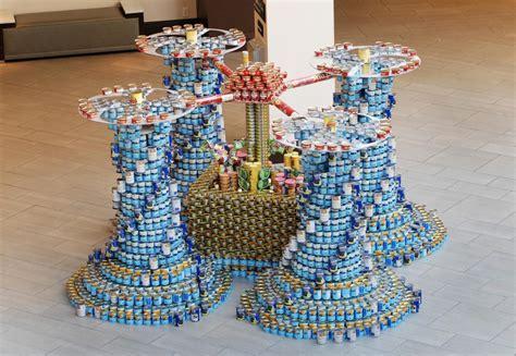Canned Food Sculpture Ideas by Cincinnati Canstruction Welcome Cincinnati Canstruction