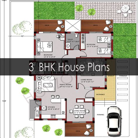 plan of 3bhk house 3 bedroom house plans houzone