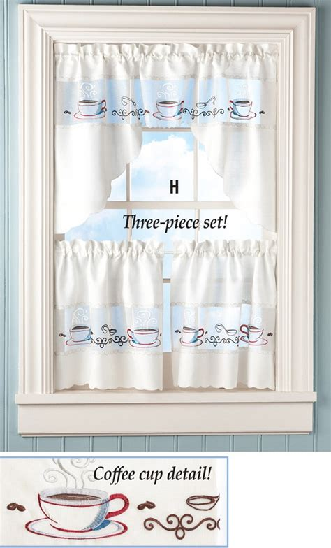 coffee cup curtains coffee cup curtain set dynatz