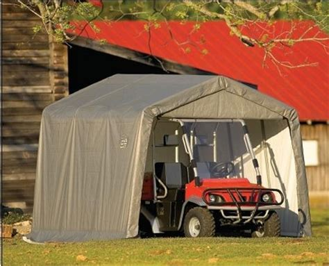 8 ft wide portable motorcycle atv garage shelters
