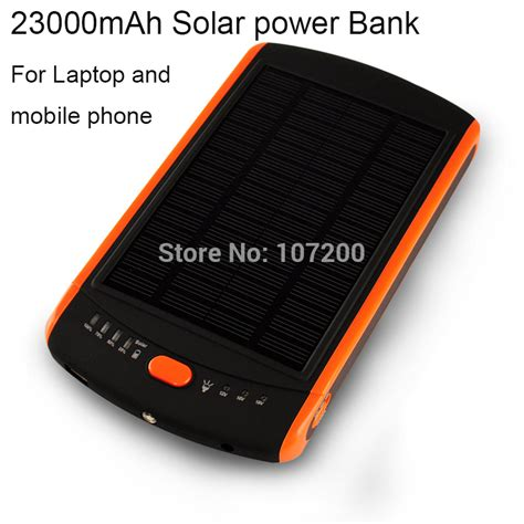 Power Bank Solar Asus 23000mah Solar Laptop Charger Mobile Solar Charger Power Bank Solar Battery Panel For Phone