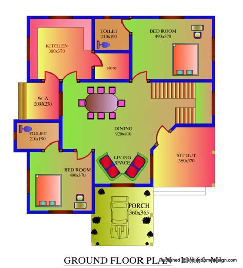 Free House Designs Floor Plans India House Map 1500 Sq Foot Simple House Zodesignart