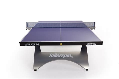 killerspin revolution svr table tennis ping pong blue