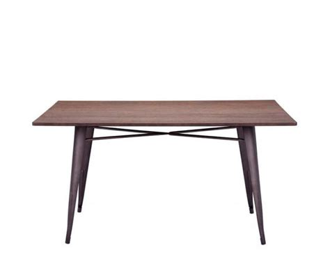 rustic wood dining table z127 modern dining