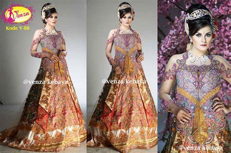 Kode Kebaya Or 03 kebaya gaun pengantin kode v 88 by venza kebaya wedding
