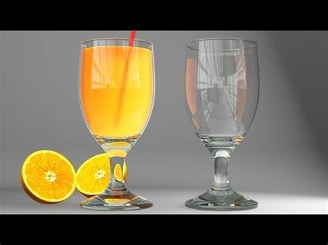 c juce tutorial 3ds max vray realistic glass and juce modeling