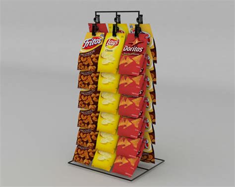 Chip Rack Display by Retail Displays By Sharkskin Designstock Designed Displays